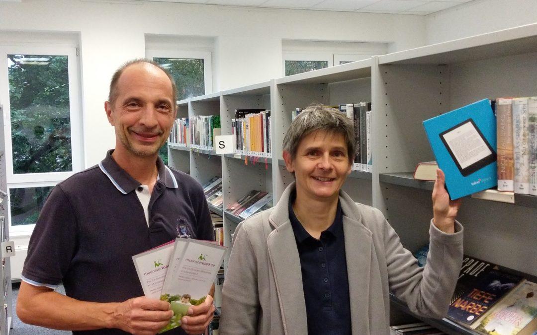Förderverein unterstützt mit einem eBook-Reader